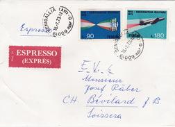 Brief Von Senigallia In Die Schweiz (br1879) - 6. 1946-.. Republic