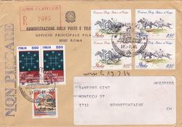 Brief In Die Schweiz (br1892) - 6. 1946-.. Republic