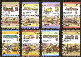 Grenadines St-Vincent 1986 Yvertnr. 450 N-DD *** MNH Cote 11 Euro Chemin De Fer Treinen Railways - St.Vincent (1979-...)