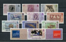 "Südgeorgien - Mi.Nr. 493 / 502 - ""Int. Briefmarkenausstellung LONDON 2010"" **  / MNH - Südgeorgien"