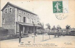 St Didier De La Seauve , Café TEYSSIER - France