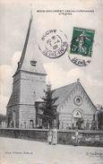 C P A  76] Seine Maritime > Bois-Guilbert L'église Carte Animée - France