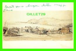 AUSTRALIA - THE ART GALLERY OF WESTERN AUSTRALIA - ALEXANDER TAYLOR, PERTH FROM ST GEORGE'S TERRACE IN 1850 - WRITTEN - - Australie