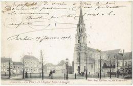 ROULERS - La Place Et L' Eglise Saint-Amand - Roeselare