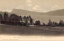 Carte Postale Ancienne CPA : Chemin De Fer Pont-Brassus (Vallée De Joux) - Le Rocheray - VD Vaud