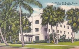 Florida Palm Beach Hotel Ardma Brazilian Drive 1951