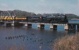 Florida Sanford Family Lines' Seaboard Coast Line #614 Crossing