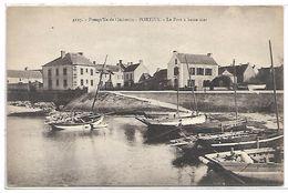 QUIBERON - PORTIVY - Le Port à Basse Mer - Quiberon