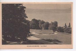 Cpa.74.1936.Evian-les-Bains.Le Golf.animé Personnages - Evian-les-Bains