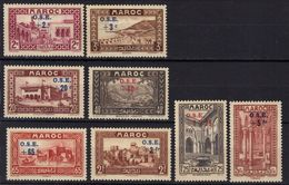 Maroc N° 153 - 160 * - Marocco (1891-1956)