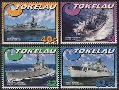 TOKELAU 2002 - Bateaux, Navires De La Marine New Zélandaise - 4 Val Neuf // Mnh - Tokelau
