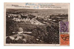 ALLEMAGNE . WEISBADEN . GESAMTANSICHT VOM NEROBERG - Réf. N°6025 - - Wiesbaden