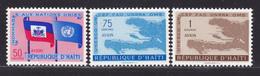 HAITI AERIENS N°  143 à 145 ** MNH Neufs Sans Charnière, TB  (D2398) - Haiti