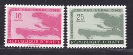 HAITI N°  400 & 401 ** MNH Neufs Sans Charnière, TB  (D2399) - Haiti