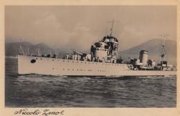 """07160 """"REGIA NAVE NICCOLO' ZENO 1928 - 1943"""" CART. ORIG. NON SPED. - Guerra"""