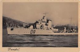 "07162 ""REGIA NAVE DARDO 1930 - 1945"" CART. ORIG. NON SPED. - Guerra"