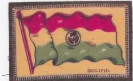 Flag Of Bolivia Cloth Or Felt(?) 13.6 X 8.8 Cm Size - Other
