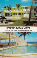 Florida Hollywood Beach Weber Ocean Apartments