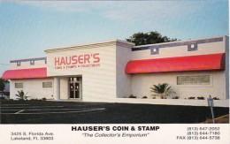 Florida Lakeland Hauser's Coin & Stamp Shop