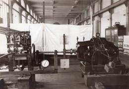 Conservatoire Des Arts Et Metiers Essai De Moteurs Aviation? Ancienne Photo 1910 - Aviation