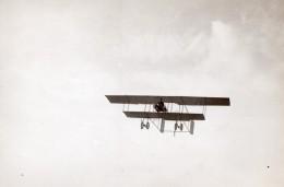 France Aviation Biplan Militaire Farman Sous Lieutenant Menard Ancienne Photo 1911 - Aviation