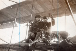 Etampes Aviation Aviateur Henri Bill Et General Roques Ancienne Photo 1911 - Aviation