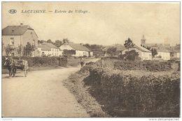 LACUISINE ..-- Entrée Du Village . 1931 Vers MONTIGNIES ( Mme Vve SERVAIS ) . Voir Verso . - Florenville