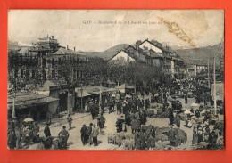 GAK-19 Gap Boulevard De La Liberté Un Jour De Foire. Tache Visible Sur Scan, Froissures. Circulé En 1921 , ETAT ! - Gap