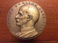 Rare Médaille Marius Berliet Automobiles 1866-1949 Argent - Other
