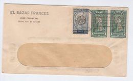 1951 PANAMA COVER Stamps SAN MARTIN OVPT Etc Stamps - Panama