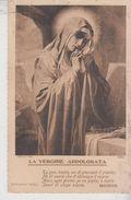 Siena Franchi La Vergine Addolorata Madonna Versi Poeta Manzoni 1924 - Vierge Marie & Madones