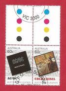 Australien 2013 , ACDC + Cold Chisel - Legends Of Music - CTO - Gestempelt / Used / (o) - - 2010-... Elizabeth II