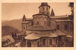 12 - CONQUES - L'Eglise - Vue De L'Abside (côté Extérieur) - France