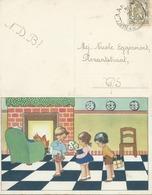 BELGO - BELGIUM - BELGIE -BELGIQUE 1915 Carta Postale - Post Card - Belgio