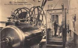 Le Charbonnage - Vue D'arrière D'une Machine D'extraction. - Mines
