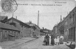 Montchanin Les Mines.Rue Lamartine.Entrée Principale Des Tuileries - France