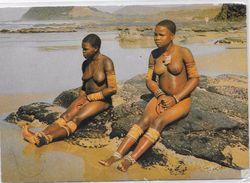 POSTCARD - Bantu Life -BANTOELEWE - Girls Bathing. - Africa