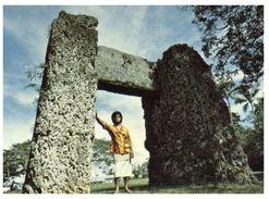 (PF 605) Tonga - Ha'Amonga,  Stonehenge Of The Pacific (circa 13th Century) - Tonga