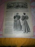 Journal De La Famille ( MODE  ILLUSTREE  35em Année  No 50( Avec Planche  De Tapisserie En Couleur )  Du 16 Dec 1894 - 1850 - 1899