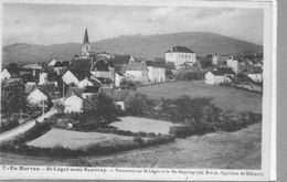Saint Leger Sous Beuvray.Panorama - France