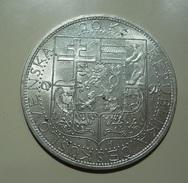 Czechoslovakia 20 Korun ND (1937) Silver - Czechoslovakia
