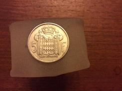 5 Francs 1960 Monaco Argent - 1960-2001 New Francs
