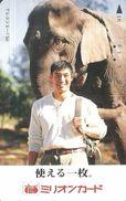ELEPHANT * ANIMAL * Million Card 046293 * Japan - Télécartes