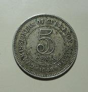 Malaya 5 Cents 1948 - Coins