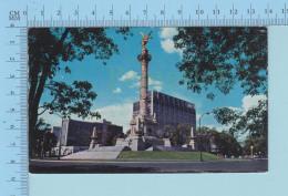 MEXIQUE - México - Monumento De La Independencia, Used In 1973 Postcard Carte Postale - Mexique