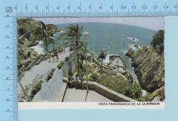 MEXIQUE - México - Vista Panoramica De La Quebrada, Used In 1979 - Postcard Carte Postale - Mexique