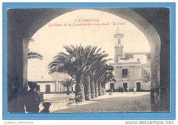 Ayamonte 1910 Years Spain España Espana Espagne Andalucia Street Scene Postcard - Huelva