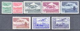CZECHOSLOVAKIA  C 10-17   * - Airmail