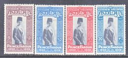 EGYPT  155-8  *  PRINCE  FAROUK - Egypt