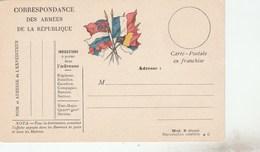 CARTE EN FM NEUVE MOD B - IND C -              TDA74 - Cartes De Franchise Militaire